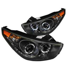 Projector Headlight Set w/2 Halos